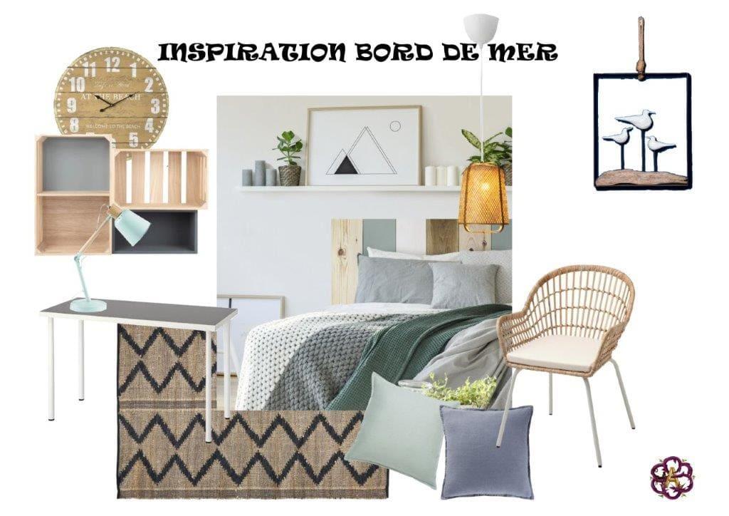Ambiance Bord de Mer Appartement décoration Montpellier