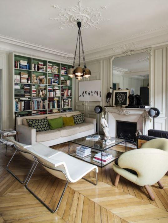 Appartement Haussmannien contemporain