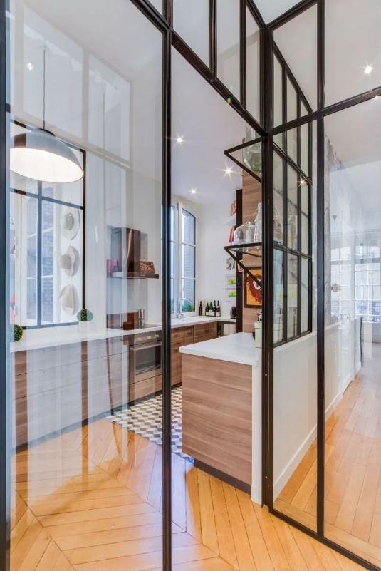 Appartement Haussmannien avec cuisine