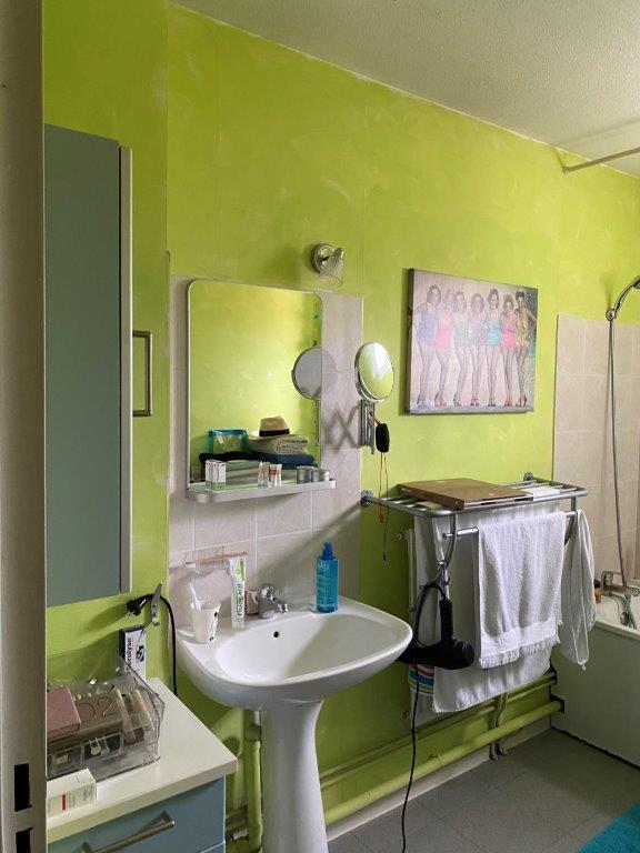 Avant / Rénovation Salle de bain
