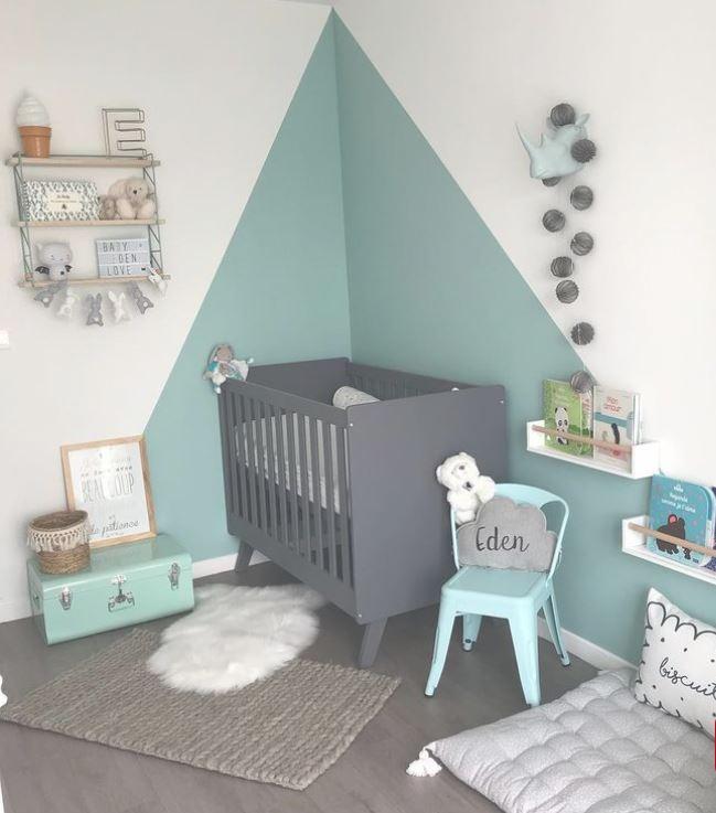 décoration chambre enfant bleu