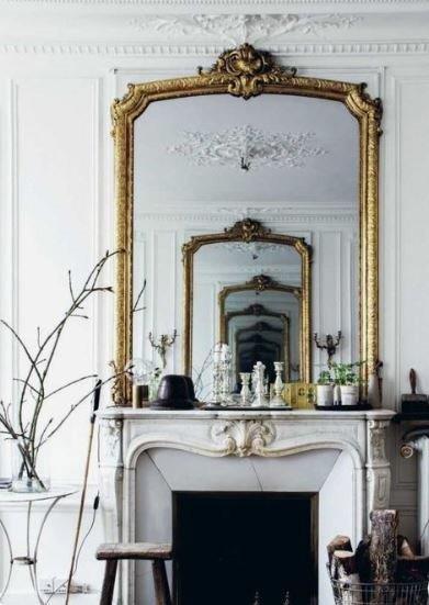 Miroir Cheminée Haussmanienne