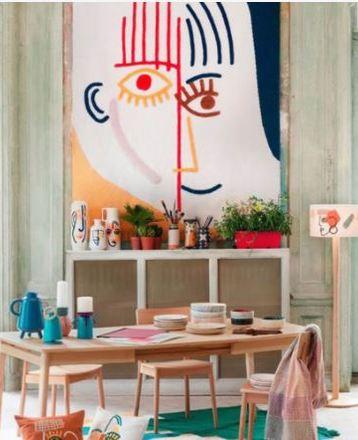 Nouvelle tendance à la fois vintage et contemporaine à adopter : un intérieur ARTY